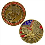 Vanguard MARINE CORPS COIN: UNITED STATES MARINE CORPS RETIRED