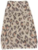 The Dog Squad Animal Instincts Mock Neck Pet Sweater, Medium, Brown Leopard