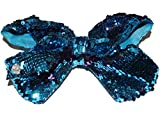 Nickelodeon JoJo Siwa Giant Blue and Purple Sequin Bow Hair Clip
