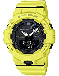 Mens Casio G-Shock Urban Trainer Yellow Watch GBA800-9A