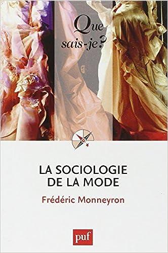 Livres gratuits en ligne La sociologie de la mode pdf, epub