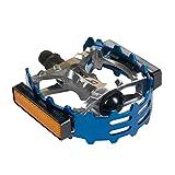 """XLC Bear Trap Pedal - 9/16"""", Blue"""