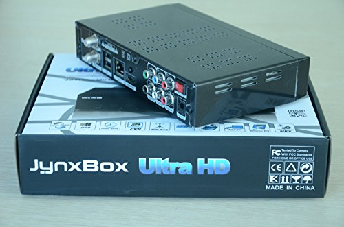 Jynxbox Ultra HD V30 FTA satellite receiver with JB200 and WIFI built In Shipped from USA or Canada