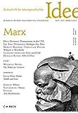 Zeitschrift für Ideengeschichte Heft XI/3 Herbst 2017: Marx