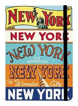 Cavallini Guide Notebooks New York 5 x 7