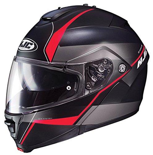 HJC IS-Max II Modular Helmet Mine Graphic Flat Red Free Size Exchanges (XXL)