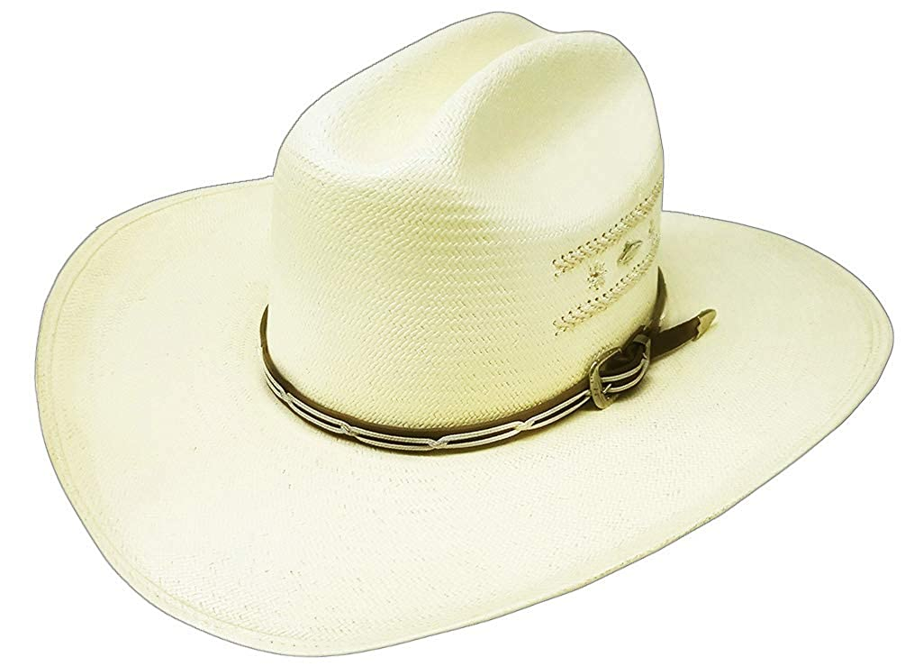 1bc7b68a7 Modestone 50X Rope Embroidery Bangora Straw Cowboy Hat ''for Small ...
