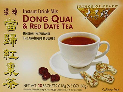 Prince of Peace Dong Quai & Red Date Instant Tea 10 Tea -