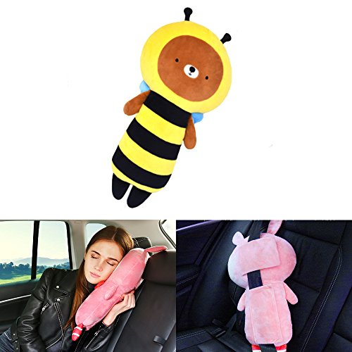 Seat Belt Pillow Car Seat Belt Covers For Kids Plush Toy Pet Seat Amazing Pillow Pet Seat Belt Cover