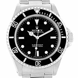 Rolex Submariner Automatic-self-Wind Male Watch 14060 (Certified Pre-Owned)