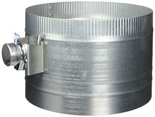 Damper Closed 24vac Normally - Suncourt 307113C 12-Inch Diameter Normally Closed Electronic HVAC Air Duct Damper with Power Supply