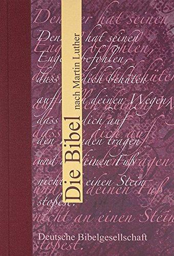 Die Bibel nach Martin Luther, Geschenkausgabe ohne Apokryphen