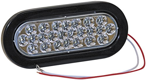 Buyers Products 5626324 Backup Light Kit w/24 LEDs 6 In. Oval Clear