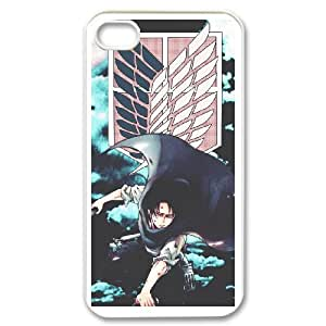 Attack On Titan For iPhone 4,4S Csae protection phone Case FX270410