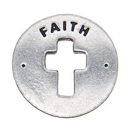 Faith Blessing Ring on Key Loop by WHD001