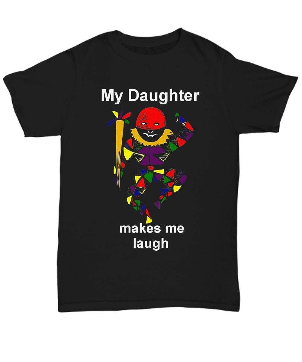 Unisex Tee Kutters My Daughter Makes me Laugh Black Unisex Tshirt