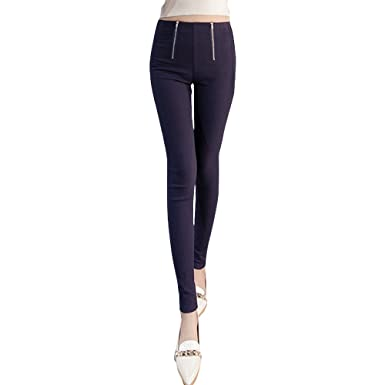 Ladies Womens Two Tone Skinny Jeans Denim Jeggings Trousers Size 10 12 14 16 18