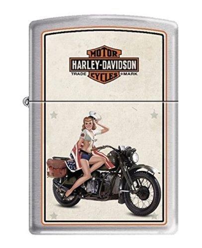 Zippo Harley Davidson Wings - 5