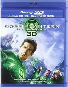 Green Lantern: Linterna Verde (Bd) (3D) - 2Dbd + 3Dbd [Blu-ray]
