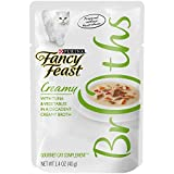 Cheap Purina Fancy Feast Broths For Cats, Creamy, With Tuna And Vegetables, 1.4-Ounce Pouch, Pack Of 32