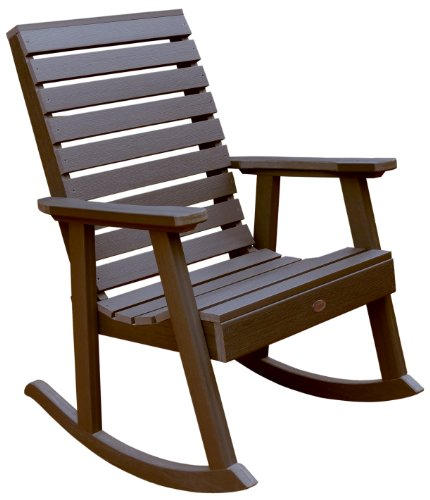 Highwood Weatherly Rocking Chair, Weathered Acorn
