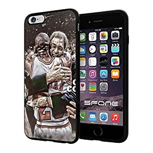 "Michael Jordan Legend #1228 Basketball iphone 6 4.7 I+ ("") Case Protection Scratch Proof Soft Case Cover Protector"