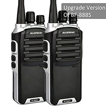 Baofeng BF-888S Plus UHF Walkie Talkies Upgrade Version Of BF-888S Two-Way Radio For Hiking Camping Trolling (2 Pack)