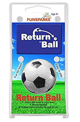 Return Ball - Soccer Ball - Fun Single Player Toy An Indoor And Outdoor Game