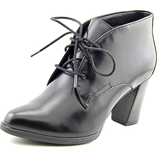 Clarks Women's Araya Turner Black Leather/Suede Combo Boo...