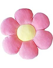 Flower Floor Pillow Seating Cushion - Cute Room Decor for Girls, Teens, Tweens & Toddlers - Flower Pillow for Reading and Lounging Comfy Pillow for Kids