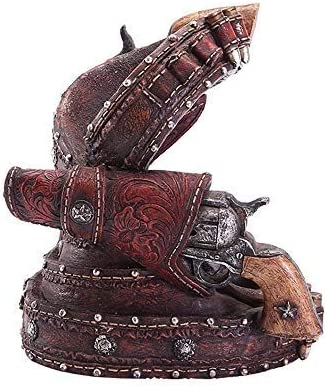 GYP-BJ Artesanía Pistola de Pistola Escultura de Modelado de Resina, Decoración del hogar Decoración Estante del Vino, Artesanía de decoración de la Oficina de la Barra