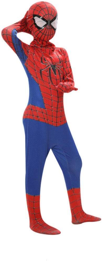 ZHANGQI Spiderman Cosplay Ropa Niño Niño Miles Spider Traje De ...