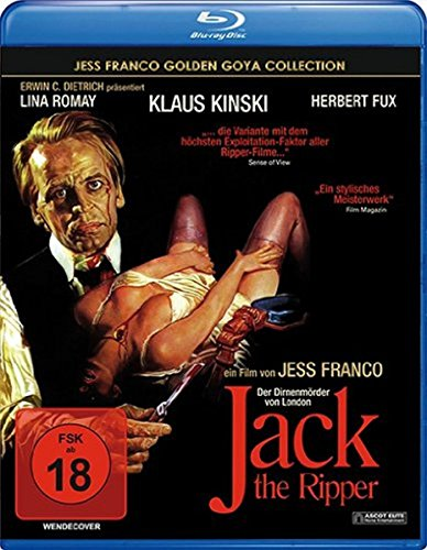 Jack The Ripper (1976) [ Blu-Ray, Reg.A/B/C Import - Germany ] (Jack Weiss)
