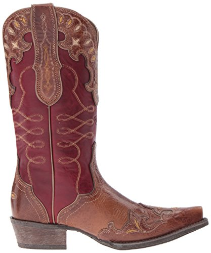 Ariat Western Zãlã rosy Boot Red Gingersnap 4q4xUrP6Aw