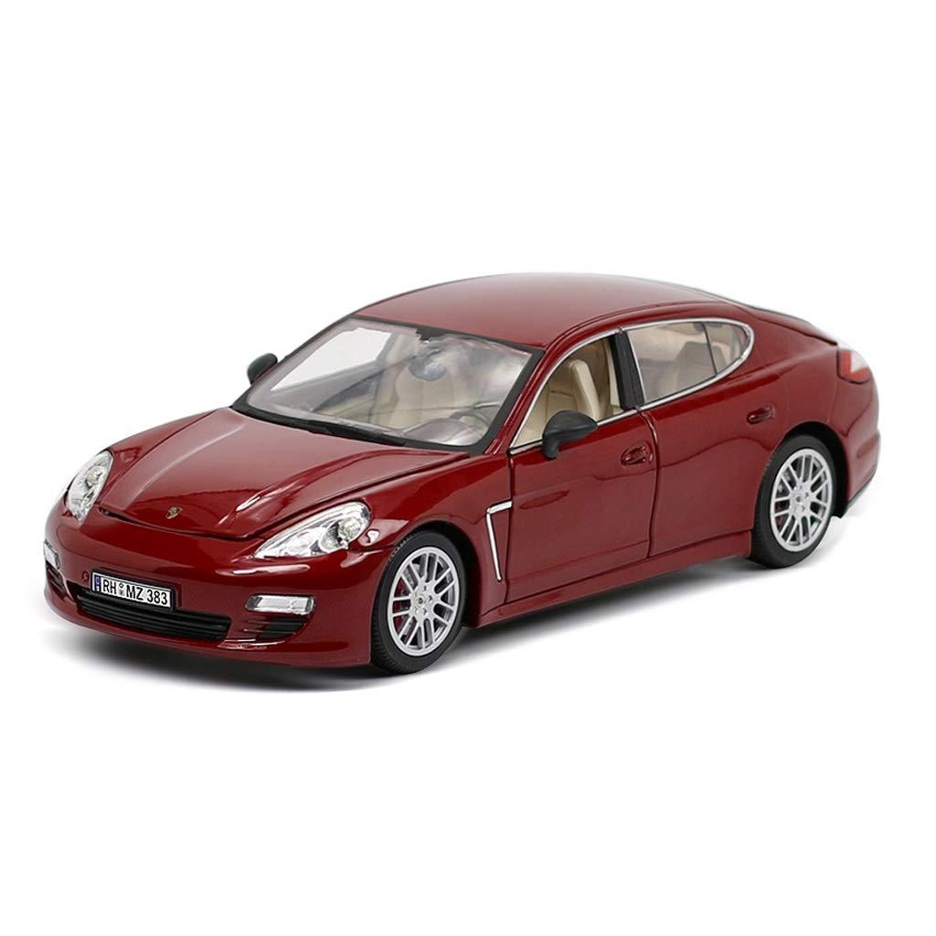 Auto Modello Modello Auto Porsche Panamela Modello in Scala 1 18 Modello Die Casting Modello in Lega Modello Collezione Decorazioni Regalo Decorative (colore   Rosso)