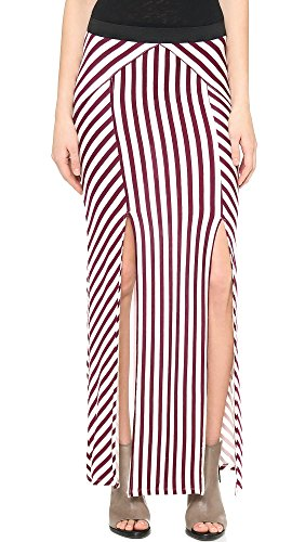 Free-People-Womens-Whats-Your-Angle-Maxi-IvoryBlack-Cherry-MD-Womens-8-10