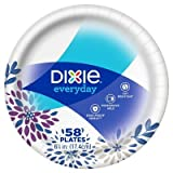 Dixie174; Everyday 6 7/8'' Paper Plates - 58ct Paisley Purple