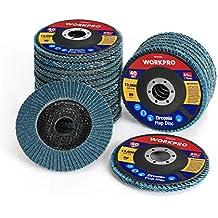 Shark 46181 4.5 x7//8 Ceramic Abrasive Flap Discs Type 27 36 Grit 10-Pack