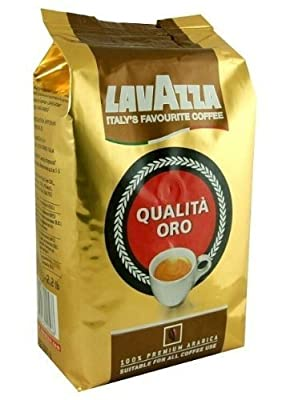 Lavazza Qualita Oro Italian Coffee Whole Beans 2.2 Pound by Lavazza