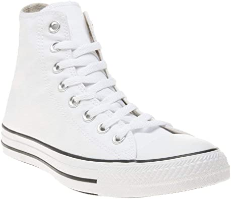 Converse All Star Hi Homme Baskets Mode Blanc: Amazon.fr ...