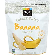 365 Everyday Value Freeze Dried Banana Slices, 1.6 oz