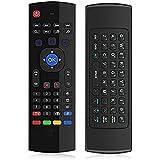 2.4G bewegliche mini drahtlose doppelte Fernsteuerungs- Tastatur u. Luft- Maus für Fernsehapparat-Kasten