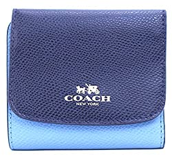 Coach Colorblock Crossgrain Small Wallet