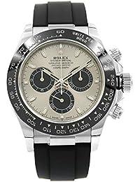Oyster Perpetual Cosmograph Daytona 18K White Gold Men's Chronograph Watch 116519LN
