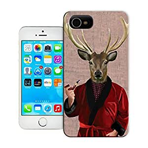 Unique Phone Case Deer in Smoking Jacket Hard Cover for 5.5 inches iphone 6 plus cases-buythecase