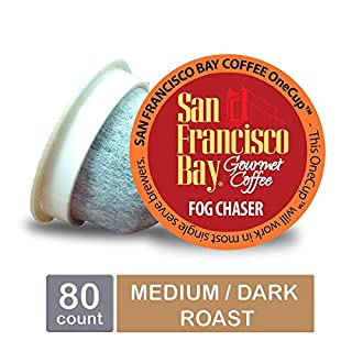 San Francisco Bay OneCup, Fog Chaser, Single Serve Coffee K-Cup Pods (80 Count) Keurig Compatible (B007Y59HVM) | Amazon Products