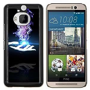 Stuss Case / Funda Carcasa protectora - Magia de ilusión Mano Oscura - HTC One M9+ M9 Plus