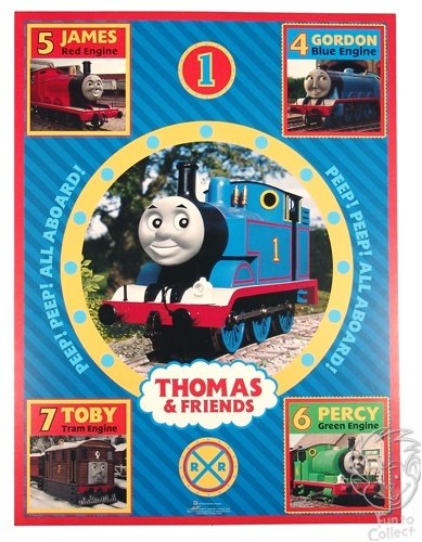 ((18 x 24) Thomas the Tank Engine and Friends Quality Poster)