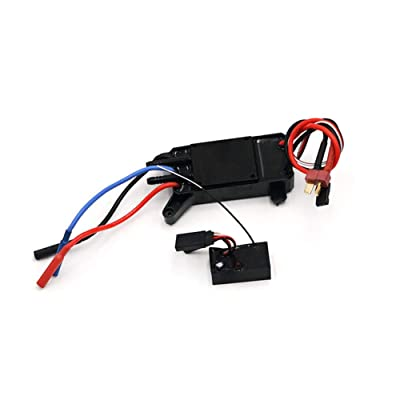 AKDSteel Remote Control Racing Boat Parts 14.8A Brushless ESC for Feilun FT011 Ship Spare Remote Control Toys Parts: Home & Kitchen