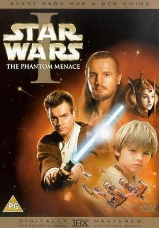 c6928c16e Star Wars: Episode I - The Phantom Menace DVD 1999: Amazon.co.uk ...